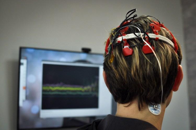 Skulljack (EEG headset); uECG (ECG wearable) for stress measuring