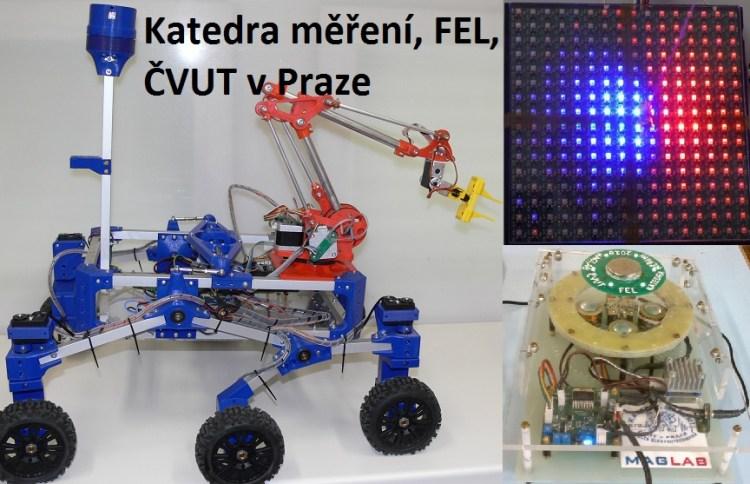 Roboti, elektronika a magnetismus z Katedry měření - FEL - ČVUT