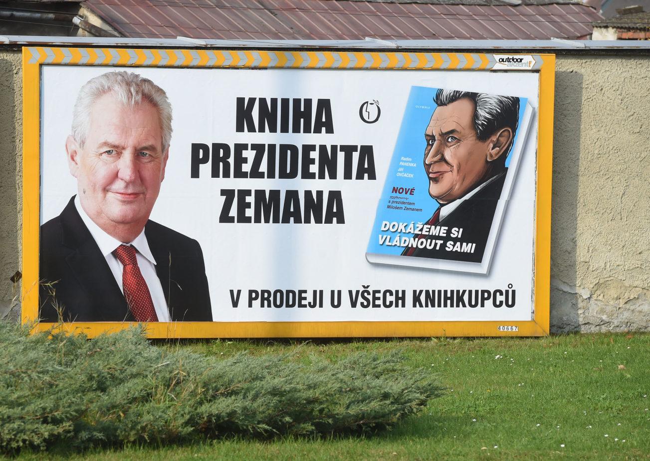 Milos Zemans Book Billboard