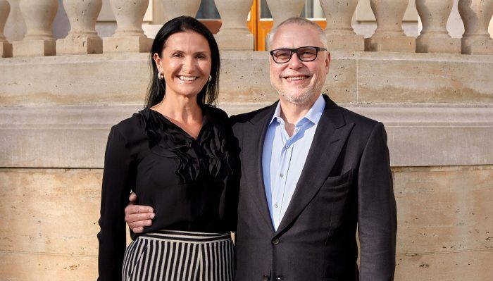 Michaela and Zdenek Bakala