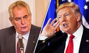 Milos Zeman Trump Iran Sanctions
