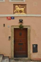 Prague doors