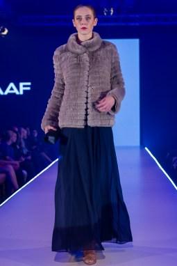 Stay warm in a fur jacket