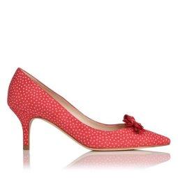 LK BENNET polka dot court shoe