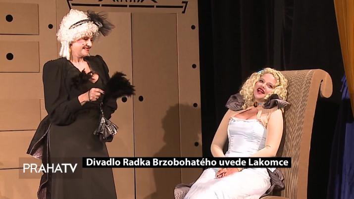 Divadlo Radka Brzobohatého uvede Lakomce | PRAHA | Zprávy | PRAHA TV
