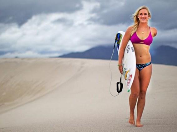 Bethany Hamilton, surfer