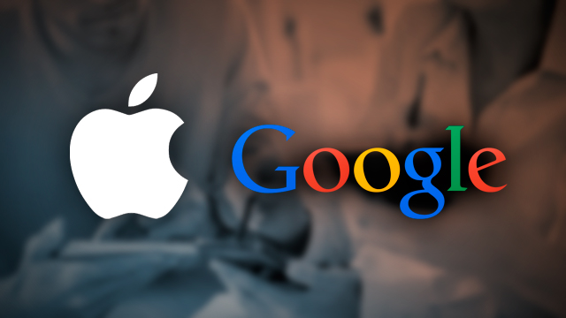 Google displaced Apple as the most valuable company