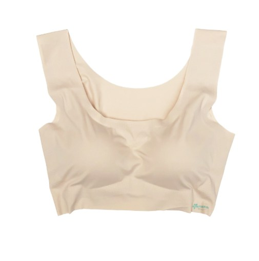 Seamless Bra Nude front