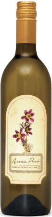 A bottle of Anna Pesa Gruener Veltliner