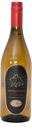 A bottle of Buffaloberry Fusion