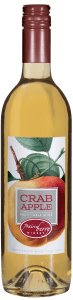 A bottle of Crab Apple wine.