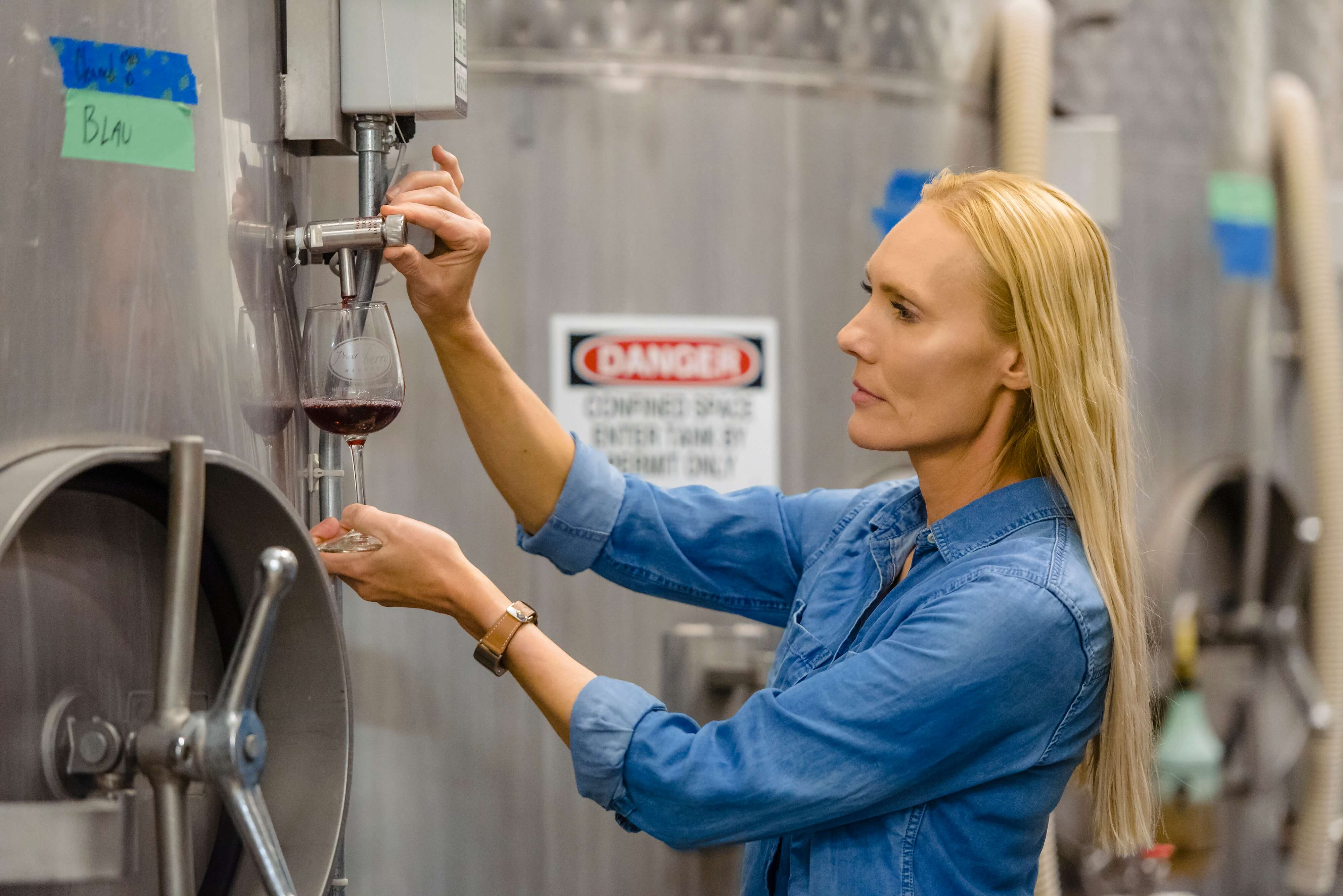Fifth-generation winemaker Sandi Vojta brings her family's Old World influences and New World pioneer spirit to Prairie Berry Winery