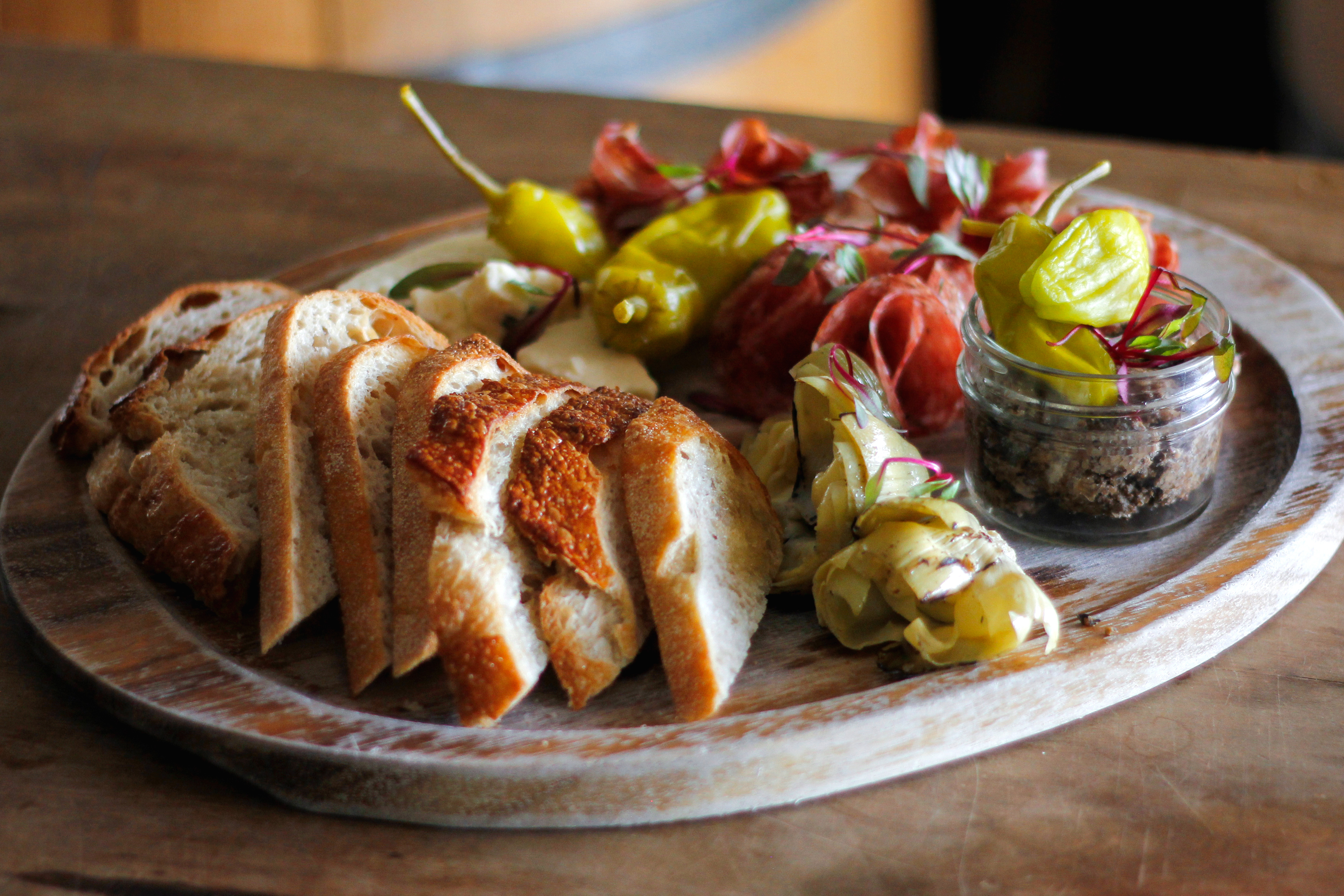 Prairie Berry Winery Kitchen's offers a variety of artisan plates, including our delicious Antipasto Platter.