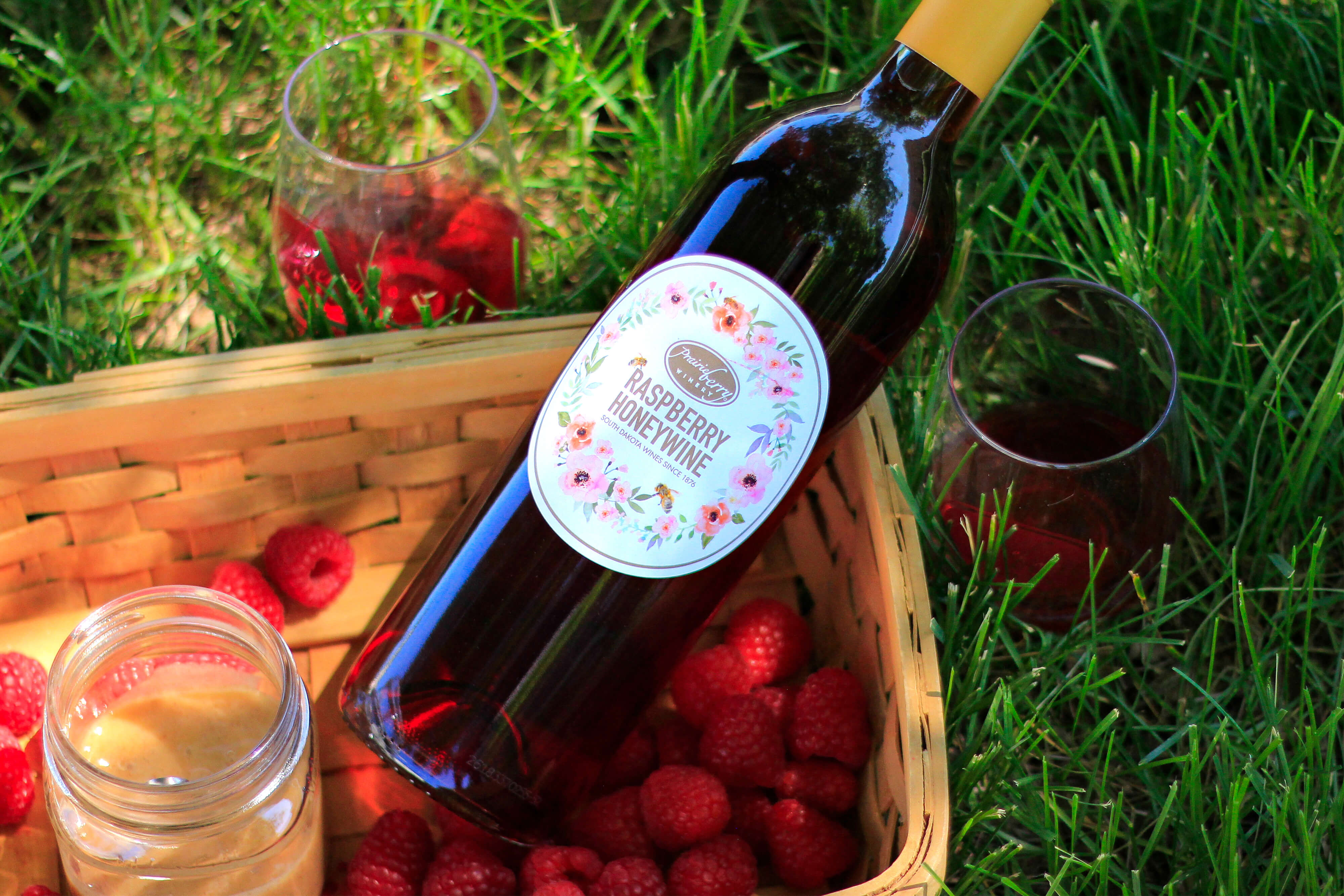 Raspberry Honeywine by Prairie Berry Winery is the best the bees have to offer, with the raspberries and South Dakota honey.