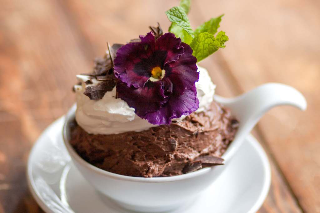 This decadent dark chocolate mousse is delicious paired with Lawrence Elk or a dry red wine, like our Anna Pesa Meritage blends.