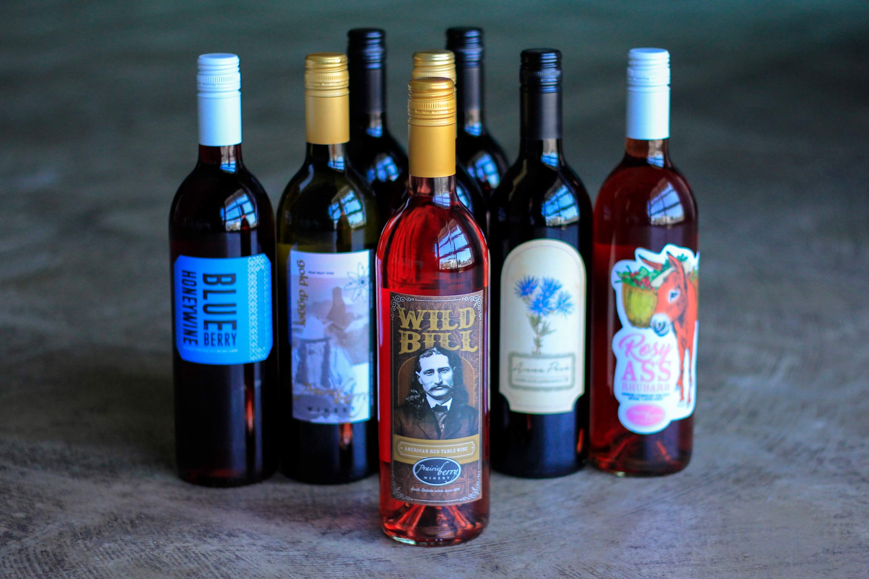 Wild Bill won a Double Gold medal at the 2019 Indy International Wine Competition. Additionally, Prairie Berry Winery and Anna Pesä wines brought home five silver and two bronze medals.