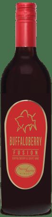A bottle of Buffaloberry Fusion