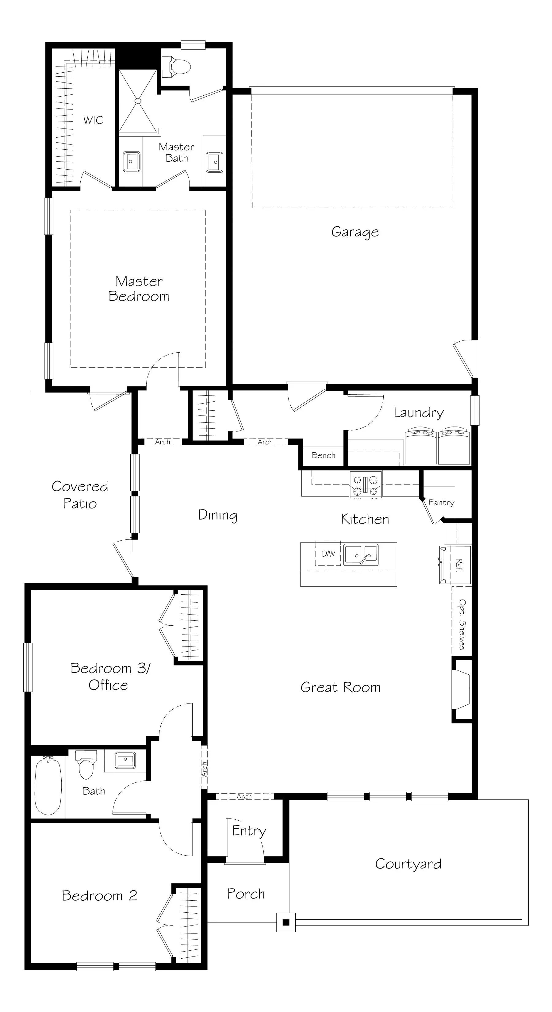 Bridger Prairie Floorplan