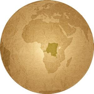 Democratic Republic of Congo, In Central Africa