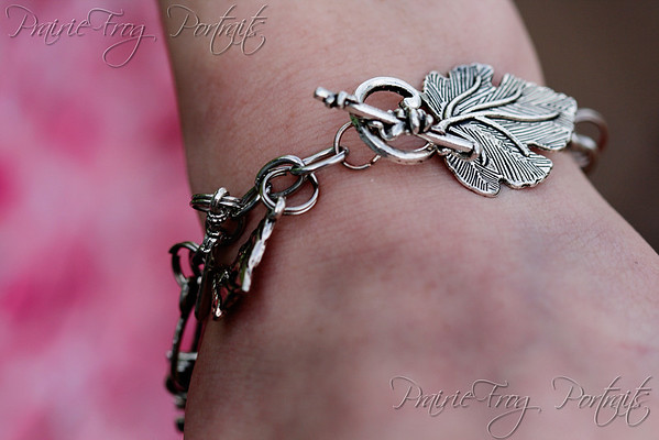 Lorien Leaf bracelettes: Members of the fellowship will add charms through their journey.