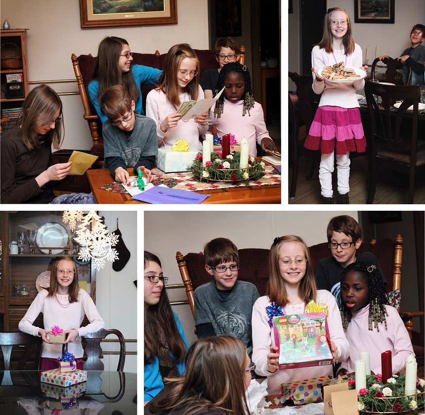 Finally more recent history: Keianna Turns 11 (A week before Christmas)