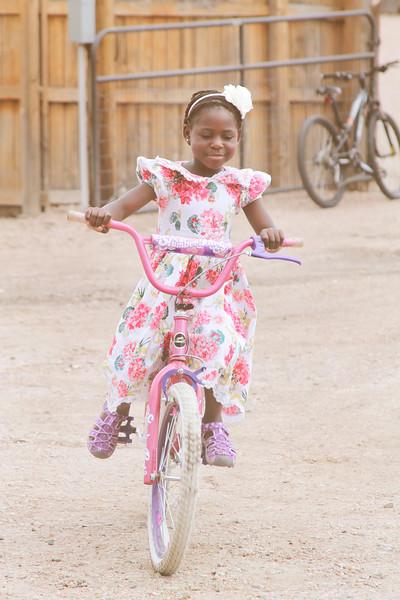 Kiffanie, riding with pride.