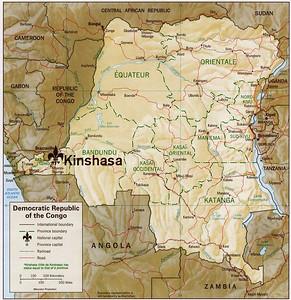 Kinshasa; Capital city of the Democratic Republic of Congo