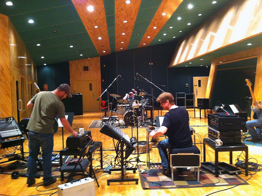 "Cathy Graham Recording ""Heart of a Prairie Girl"" Album in Nashville, Tennessee"