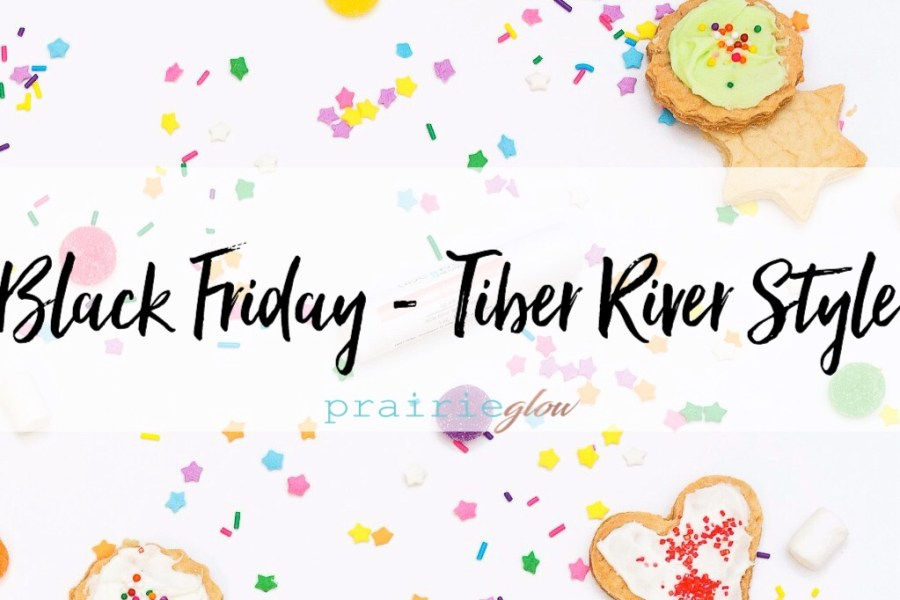 Black Friday – Tiber River Style!