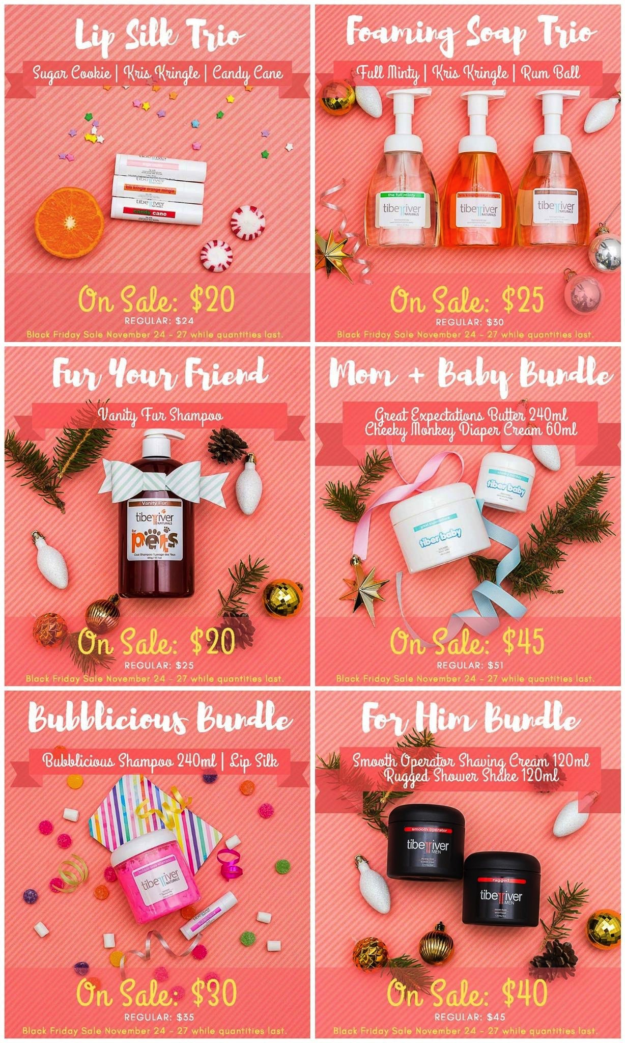 Black Friday Tiber River Naturals Prairie Glow