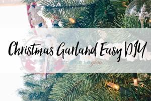 Christmas Garland DIY Prairie Glow