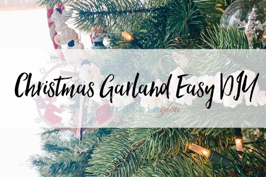 Christmas Garland Easy DIY