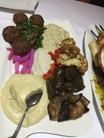 Lebanese Dip Plate - best garlic dip ever