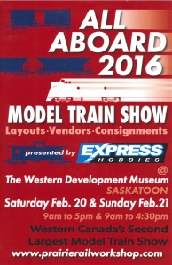 All Aboard 2016 Model Train Show