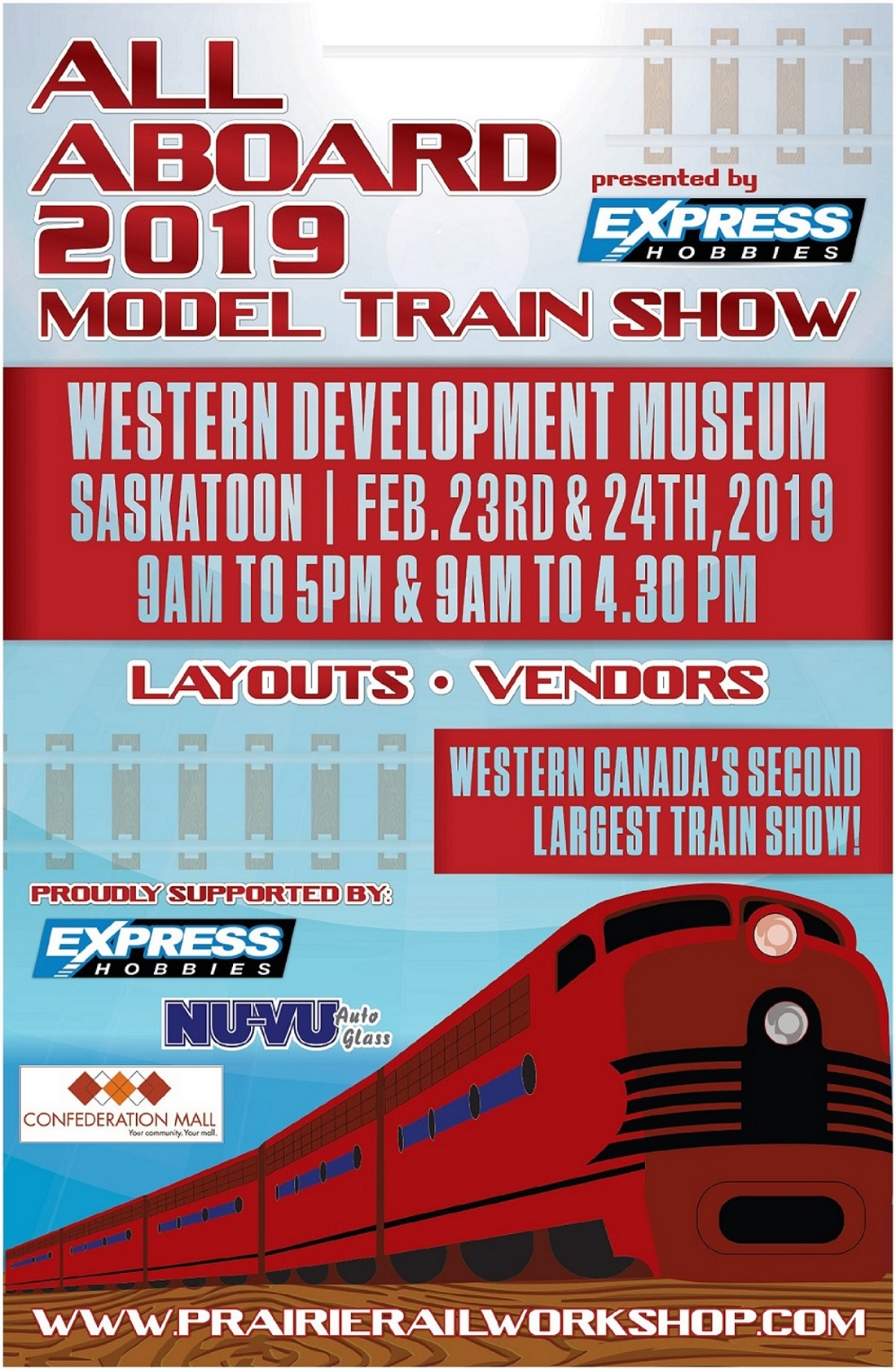 Train Show – Prairie Rail Workshop