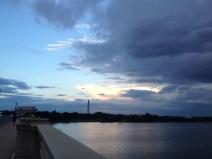 View of Washington, DC from the Arlington Memorial Bridge