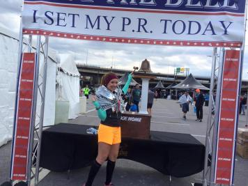 On October 17, I finished the 2015 Baltimore Marathon in 4:28.