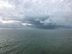 Morning storms