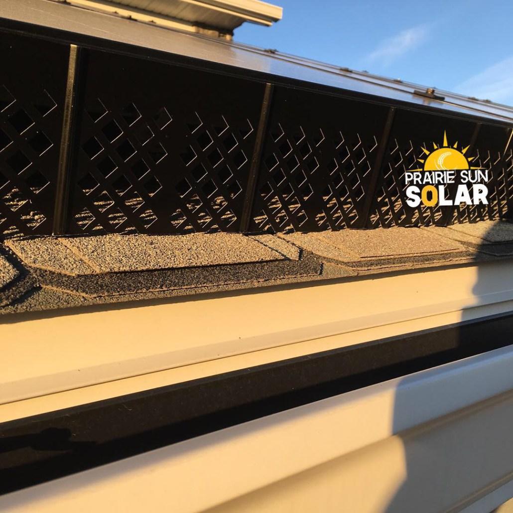 Critter Guard - solar maintenance