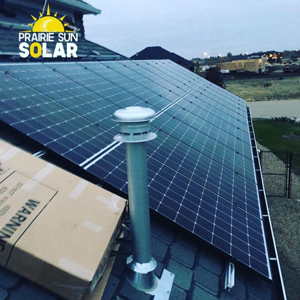 solar panel install regina-prairie sun
