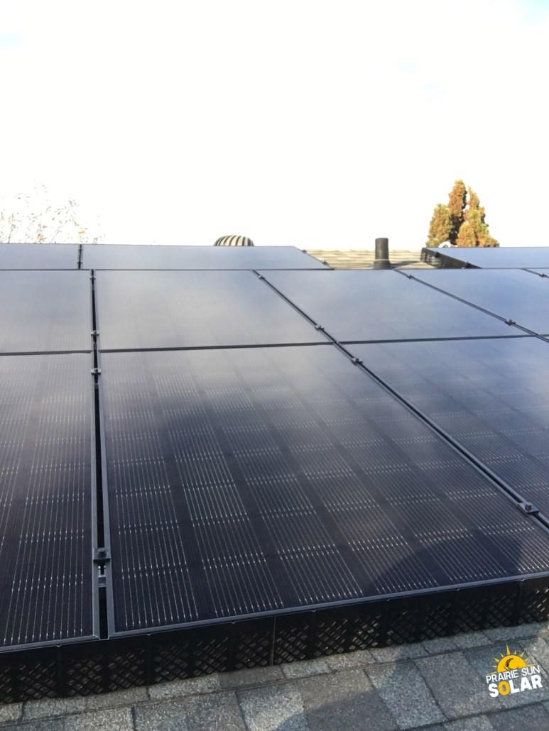 solar panels installed in regina-prairie sun solar