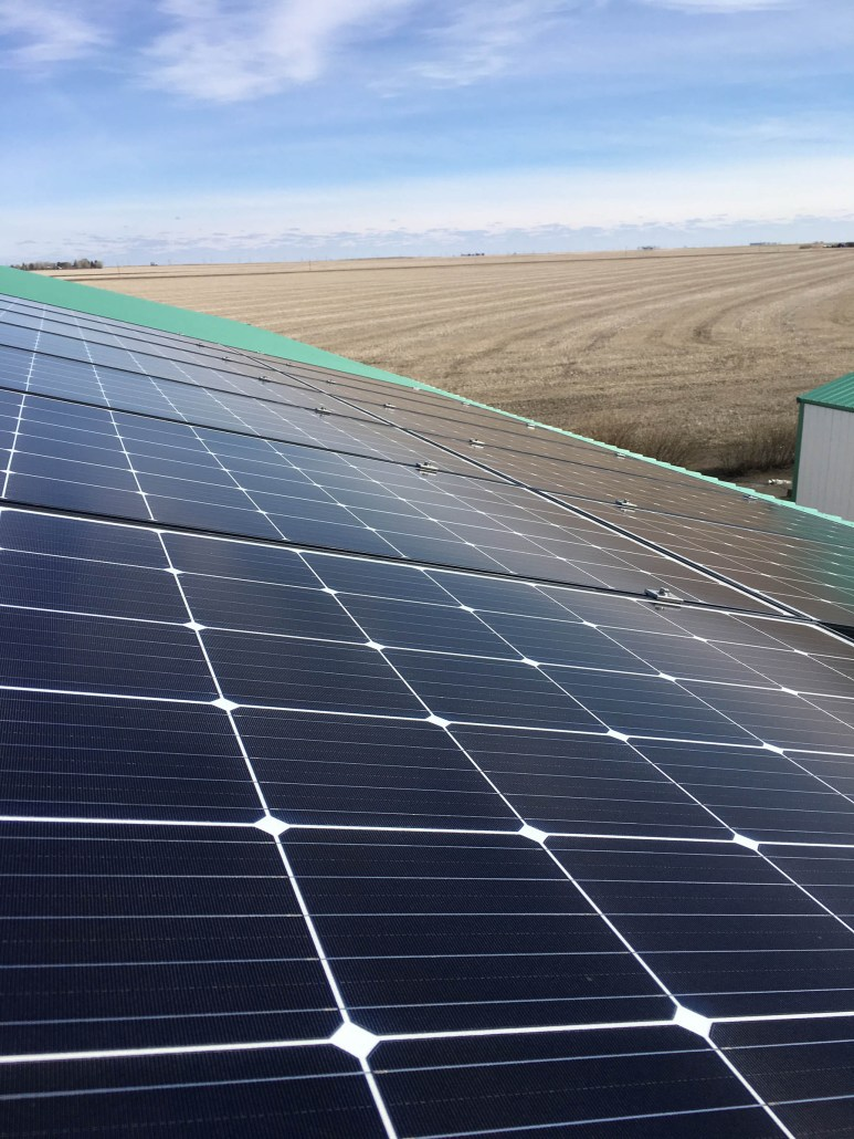 rural solar panels save you money on the farm