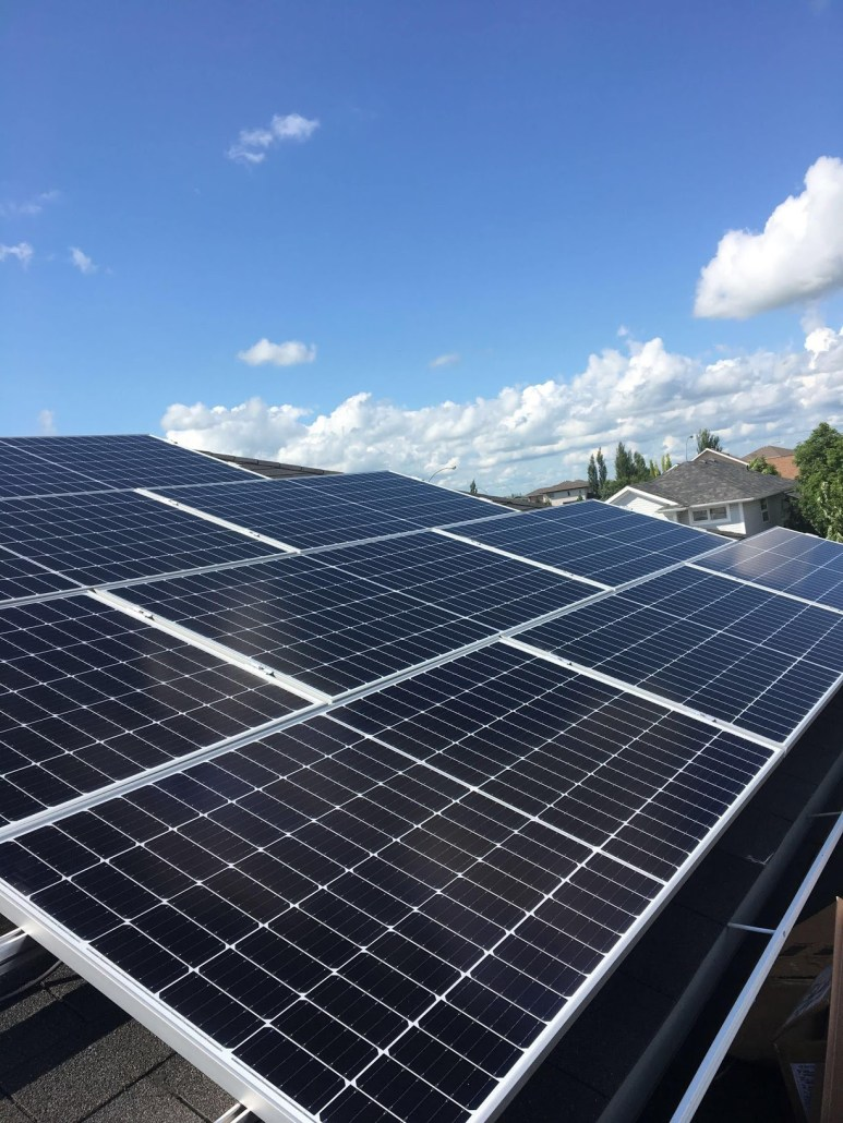 home solar panel installation - residential solar