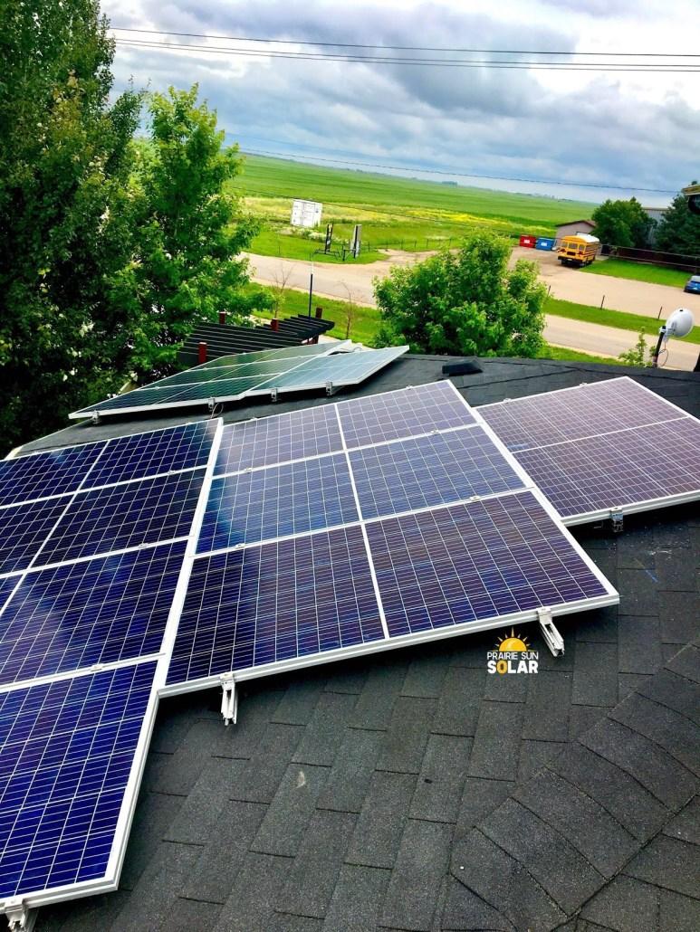residential solar panels installation
