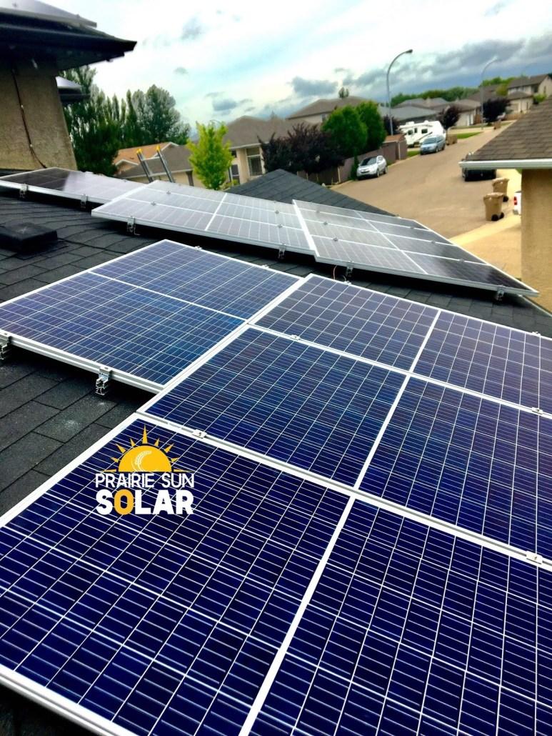 solar panels installed in regina - sask solar