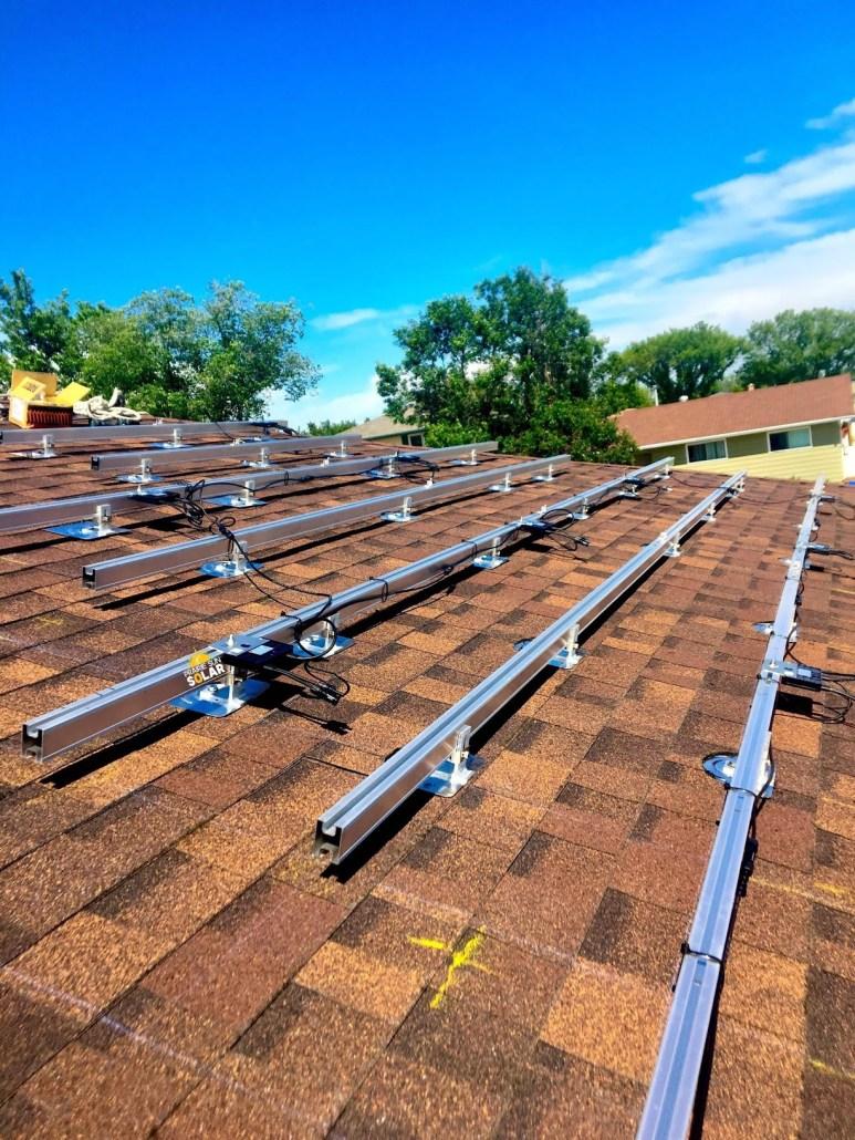 string inverter with optimizers solar panel racking - residential solar