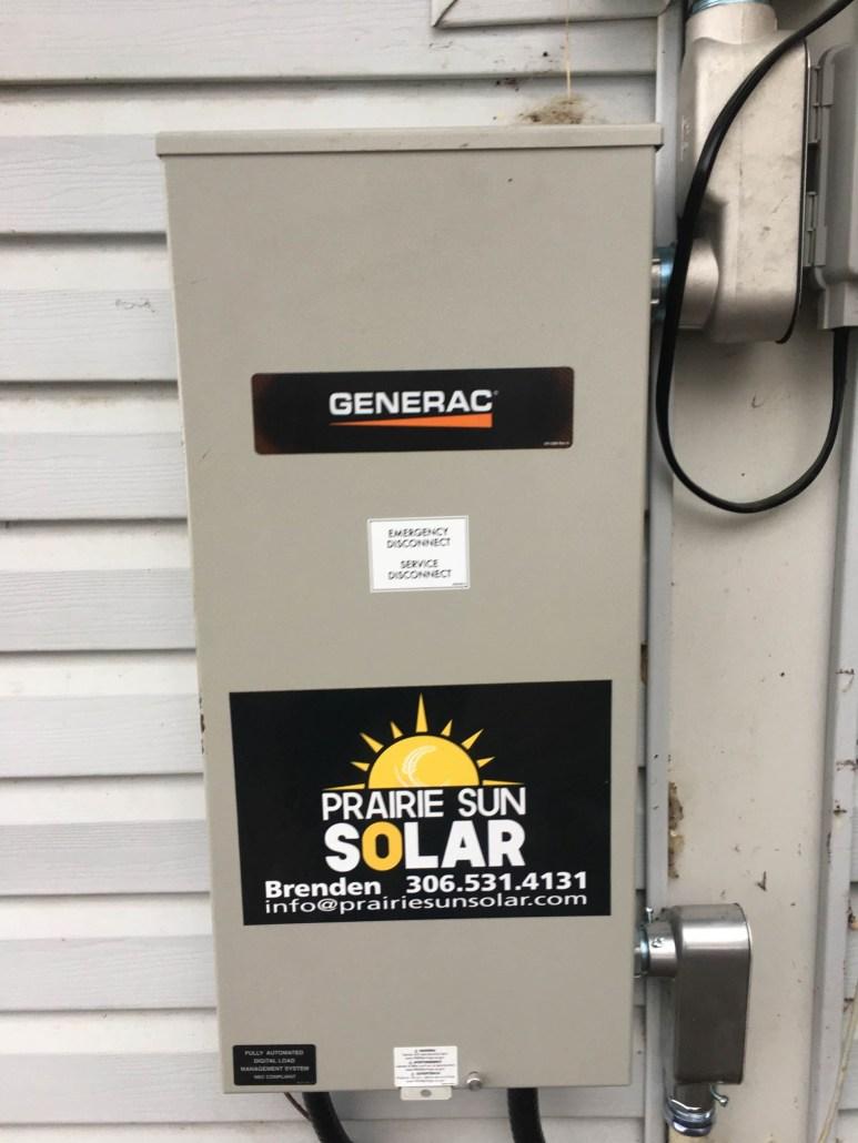 Generac Transfer Switch - Saskatchewan - 200A Service Rated