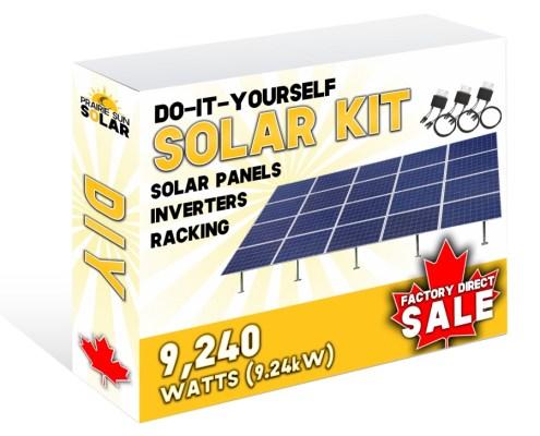 Solar Panels Ground Mounted Racking 9240W