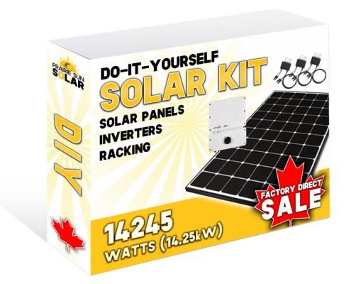 Solar Panel Kit - Solar Saskatchewan