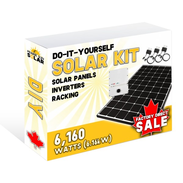 Solar Panel Kit 6.16kW
